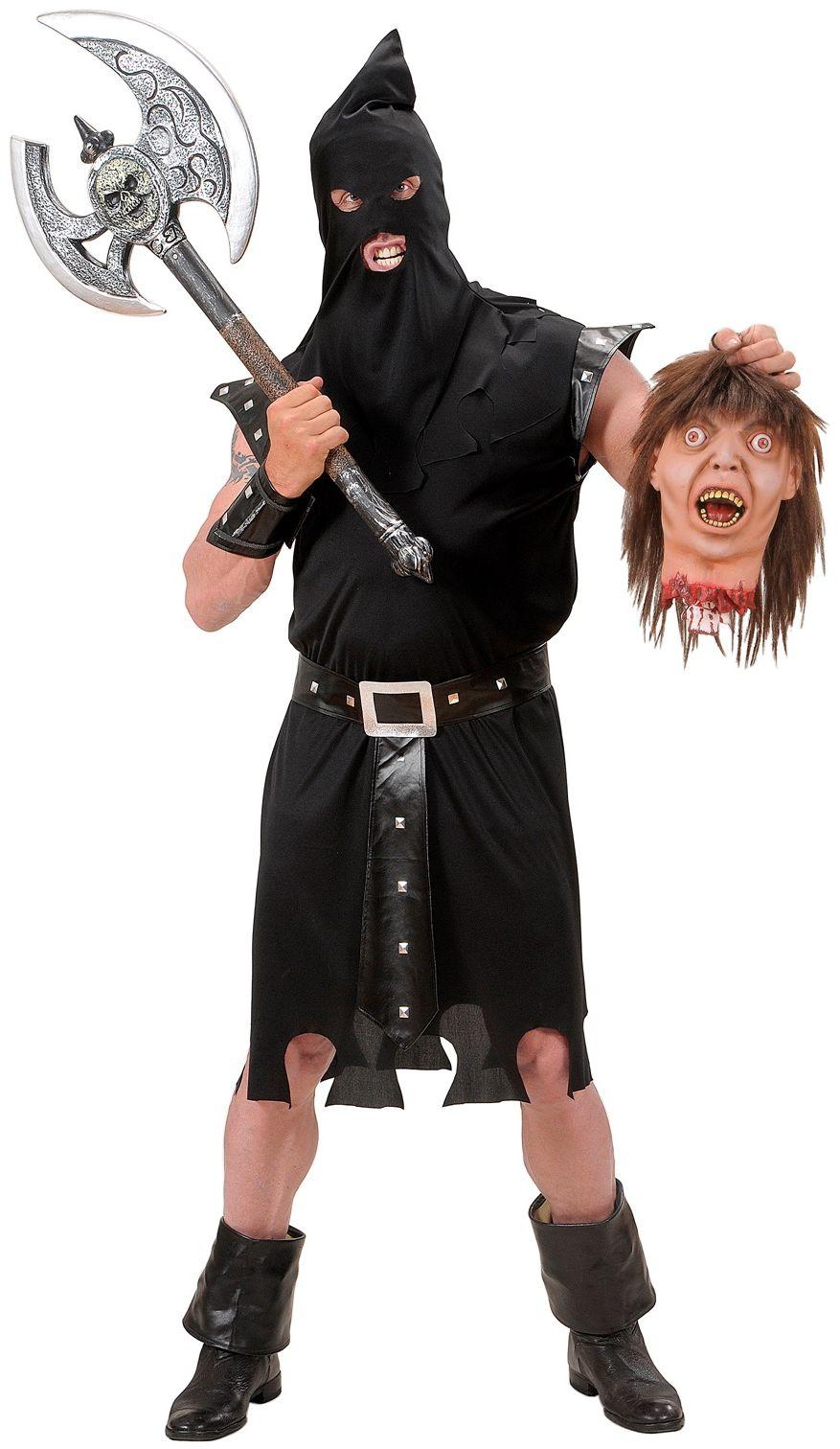 Horror kostuum zwart