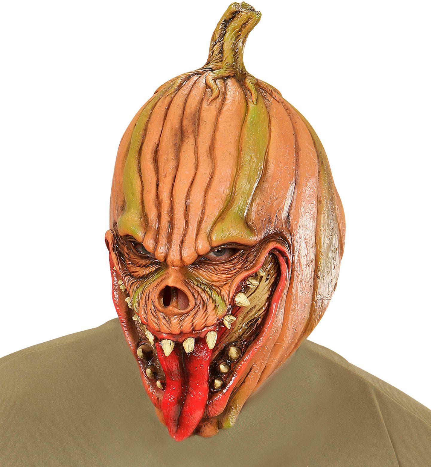 Horror pompoen masker
