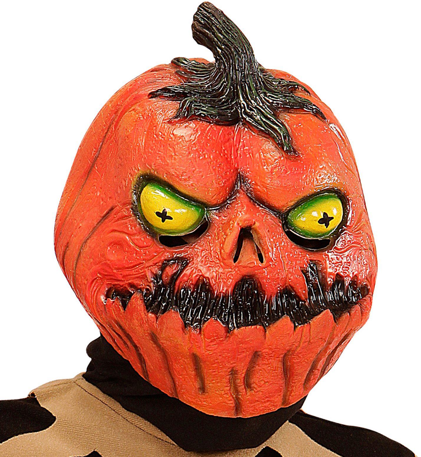 Horror pompoen masker kind
