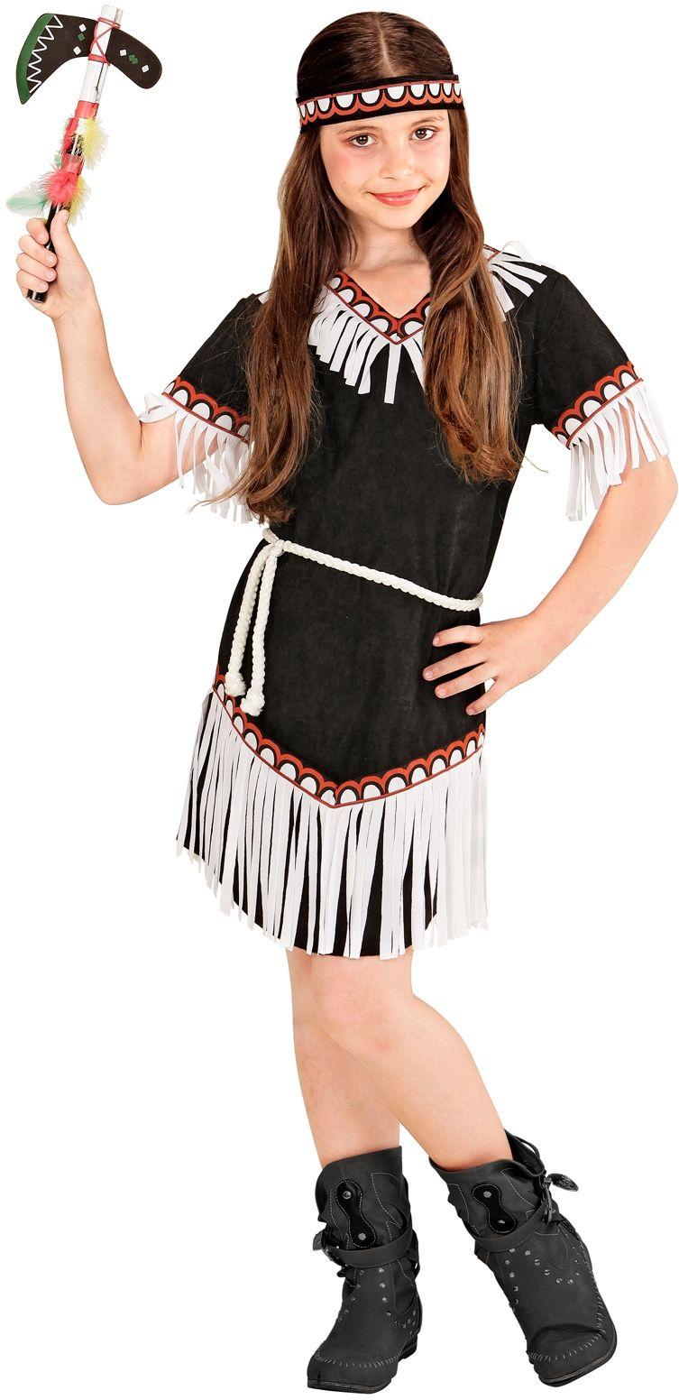 Indiaan kostuum meisjes