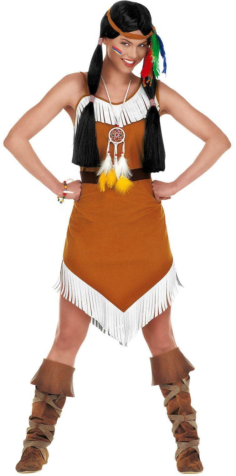 Indianen jurkje dames