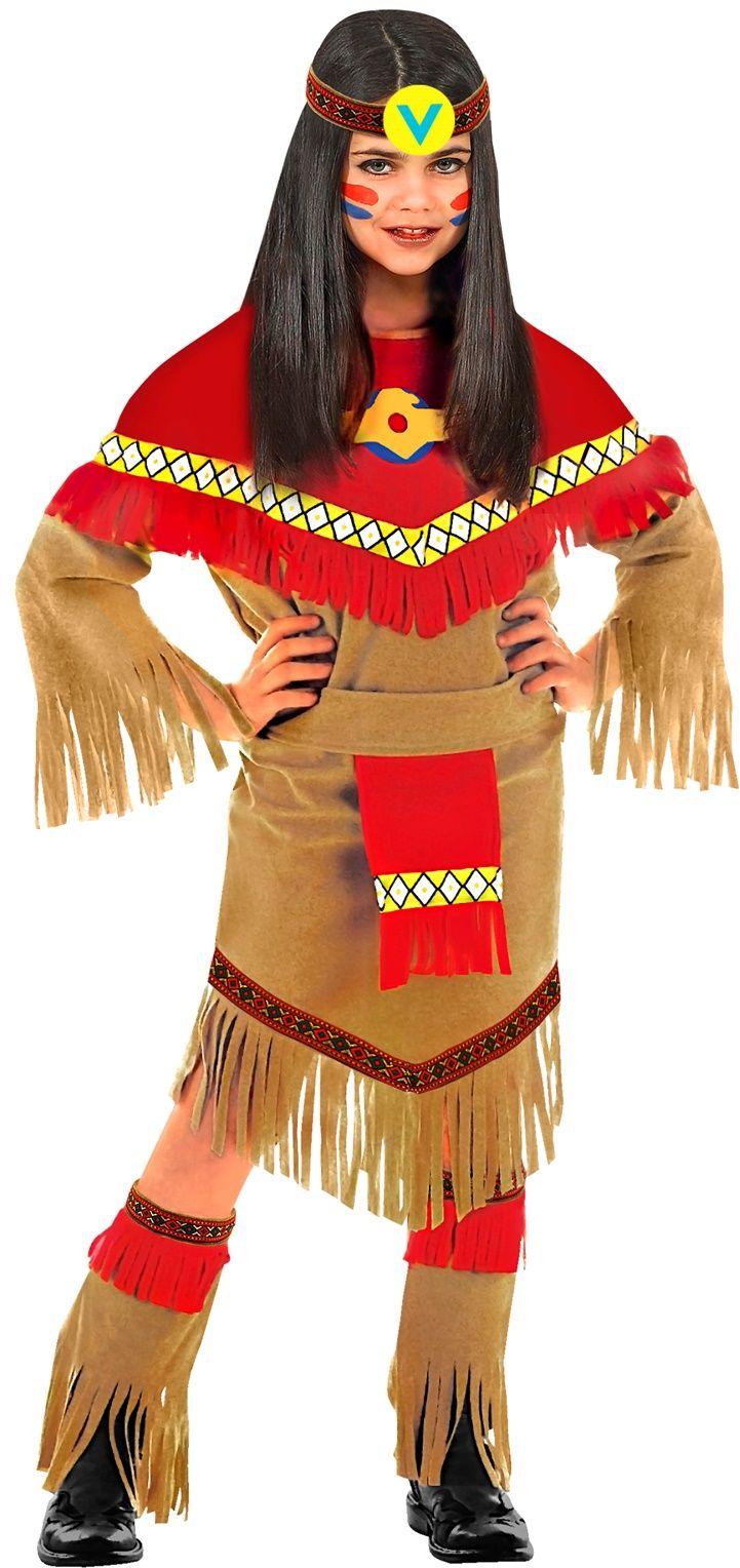 Indianen jurkje meisje