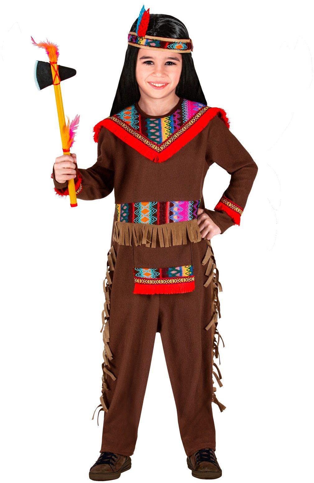 Indianen kostuum jongens