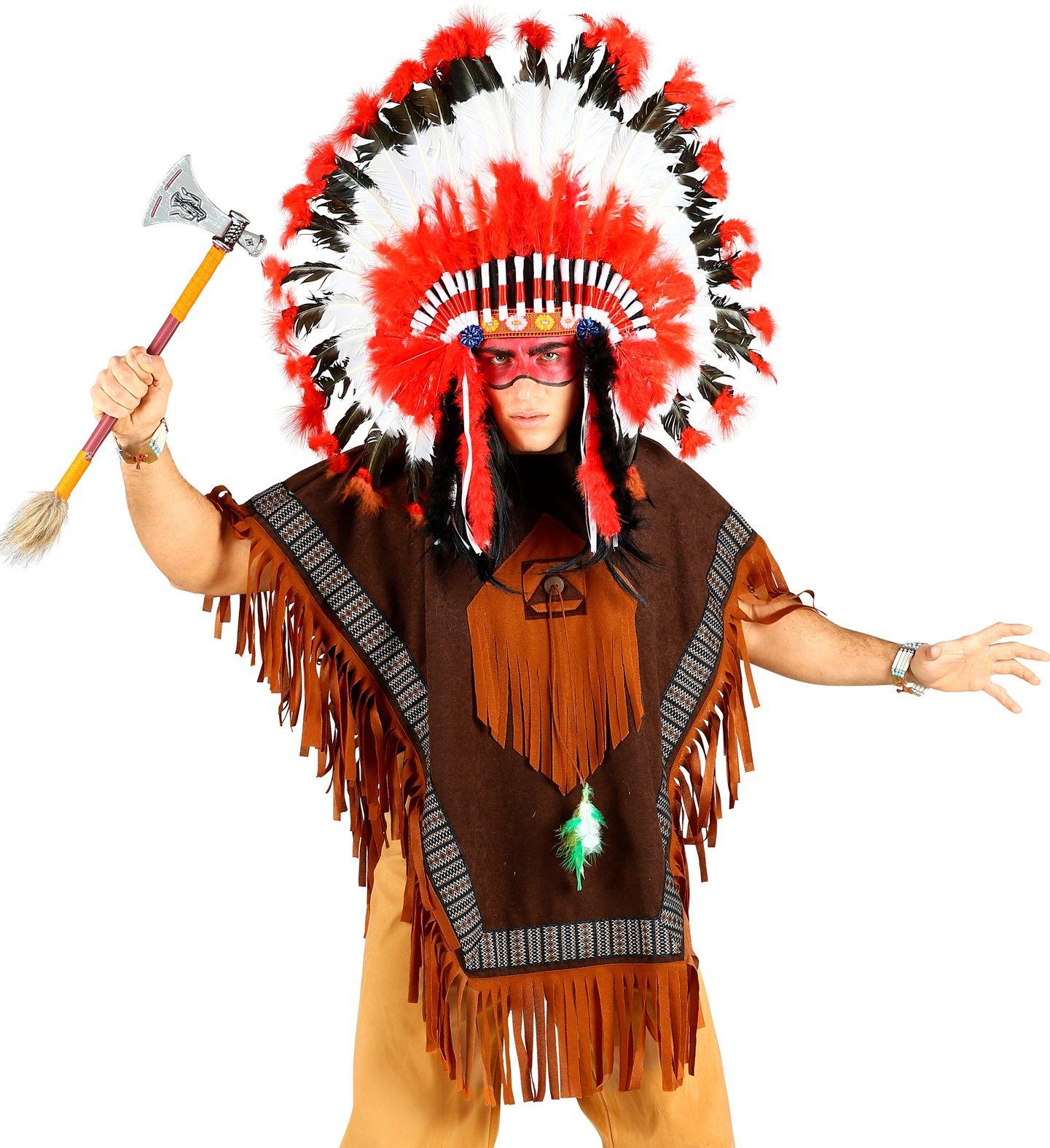 Inheemse indianen poncho