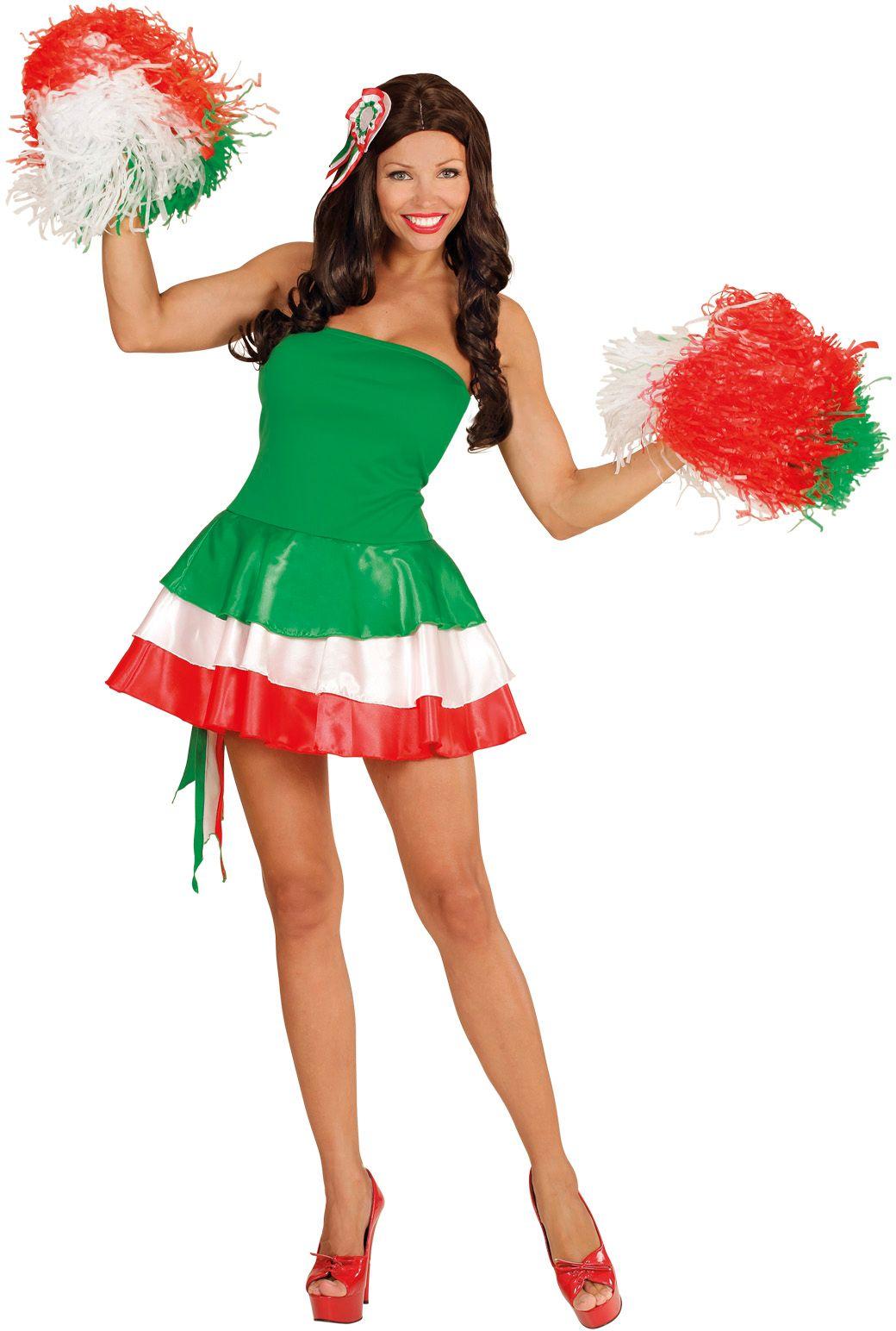 Italiaanse cheerleader jurk