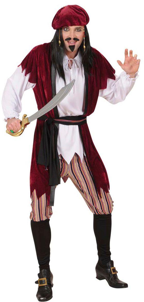 Jack Sparrow kostuum heren