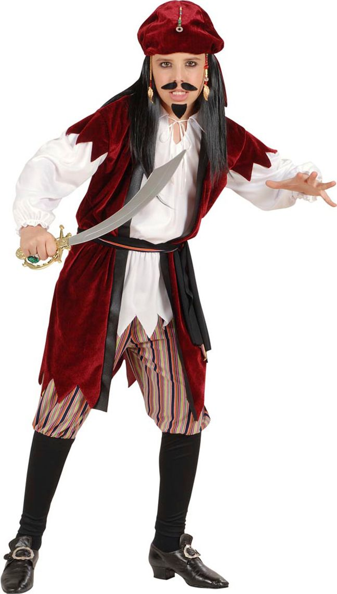Jack Sparrow kostuum kind
