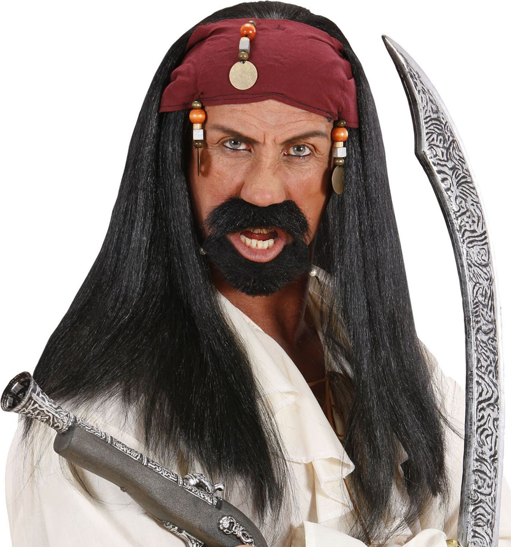 Jack Sparrow pruik