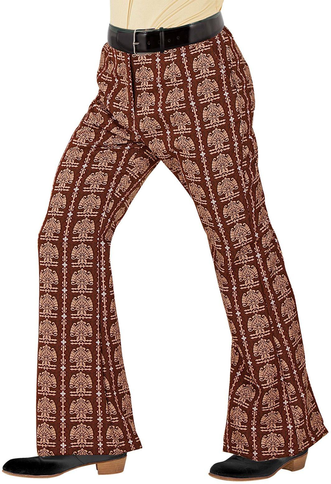 Jaren 70 broek bruin