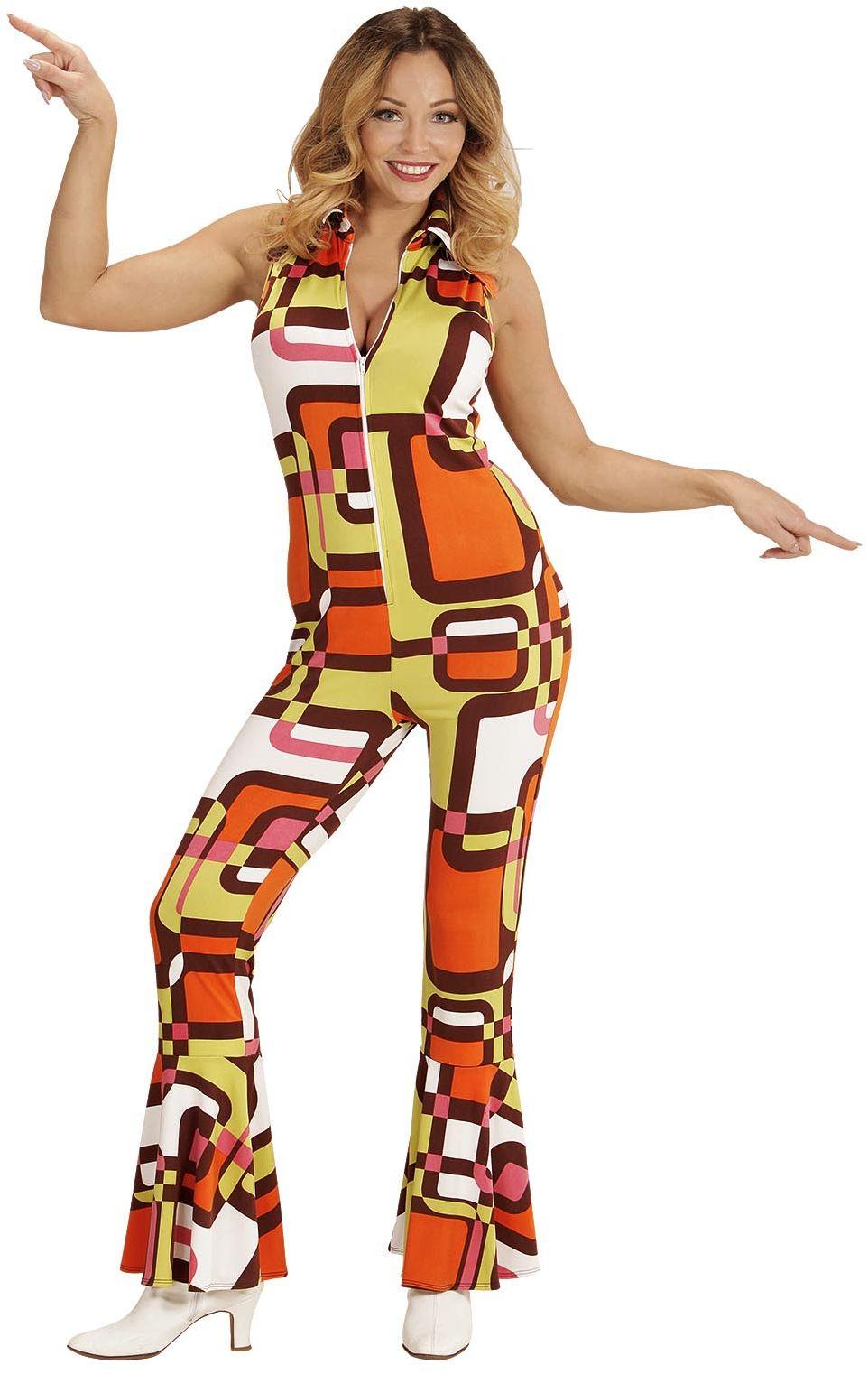 Jaren 70 disco jumpsuit