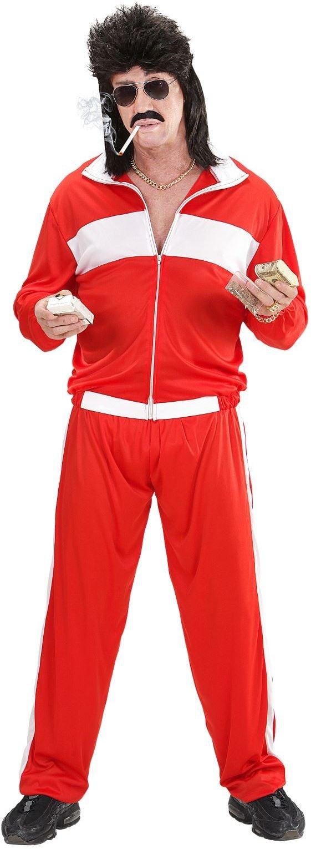 Jaren 70 kleding rood
