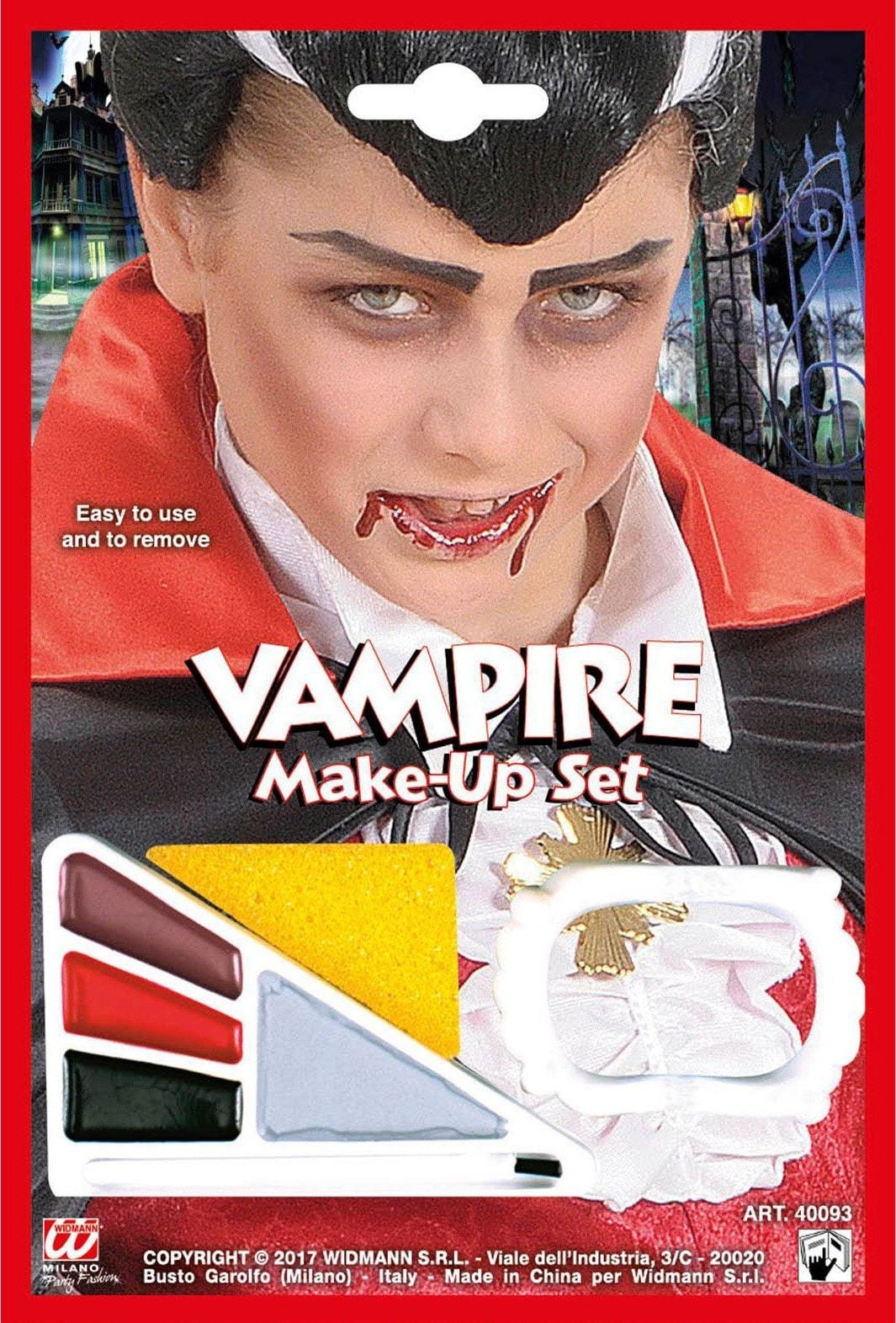 Jongens vampier make-up set