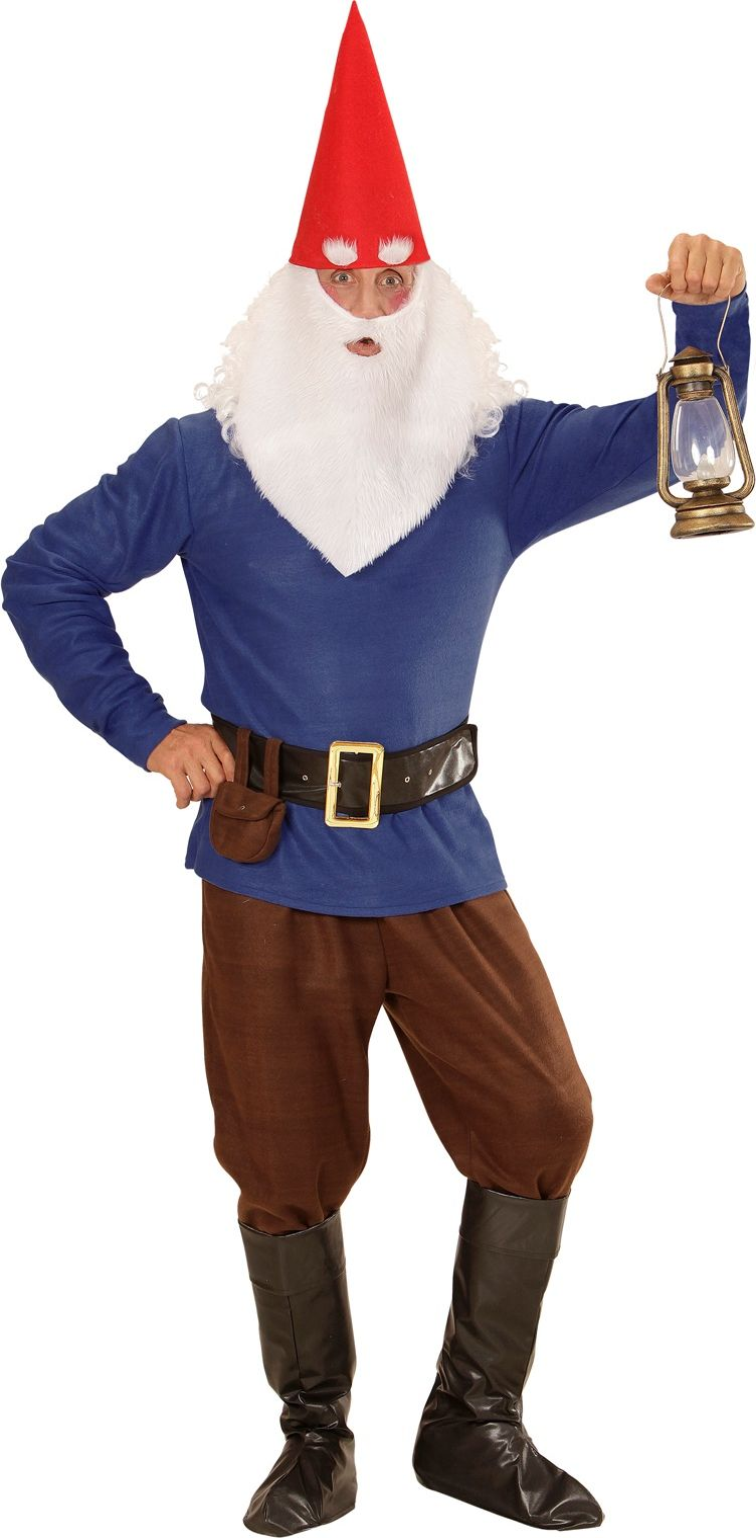 Kabouter kostuum blauw