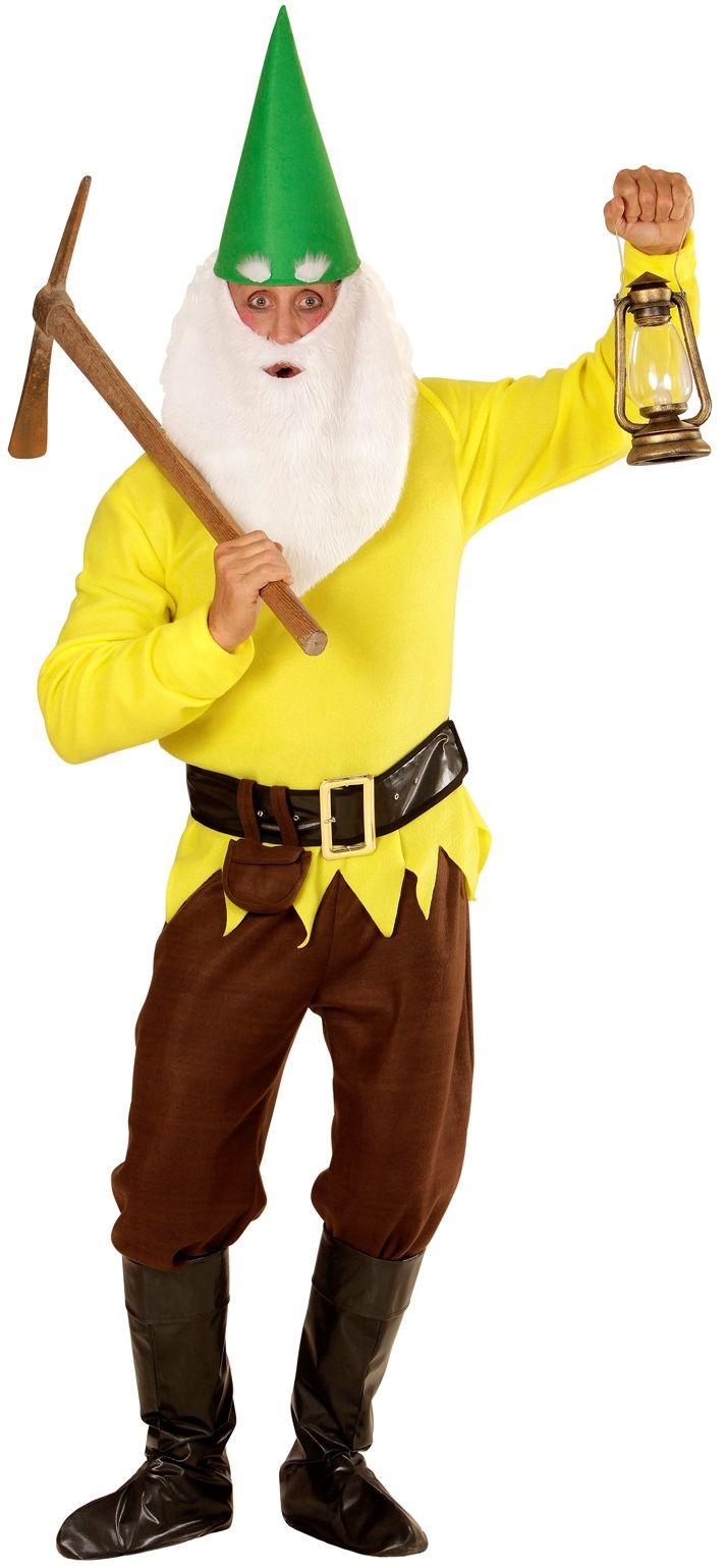 Kabouter kostuum geel