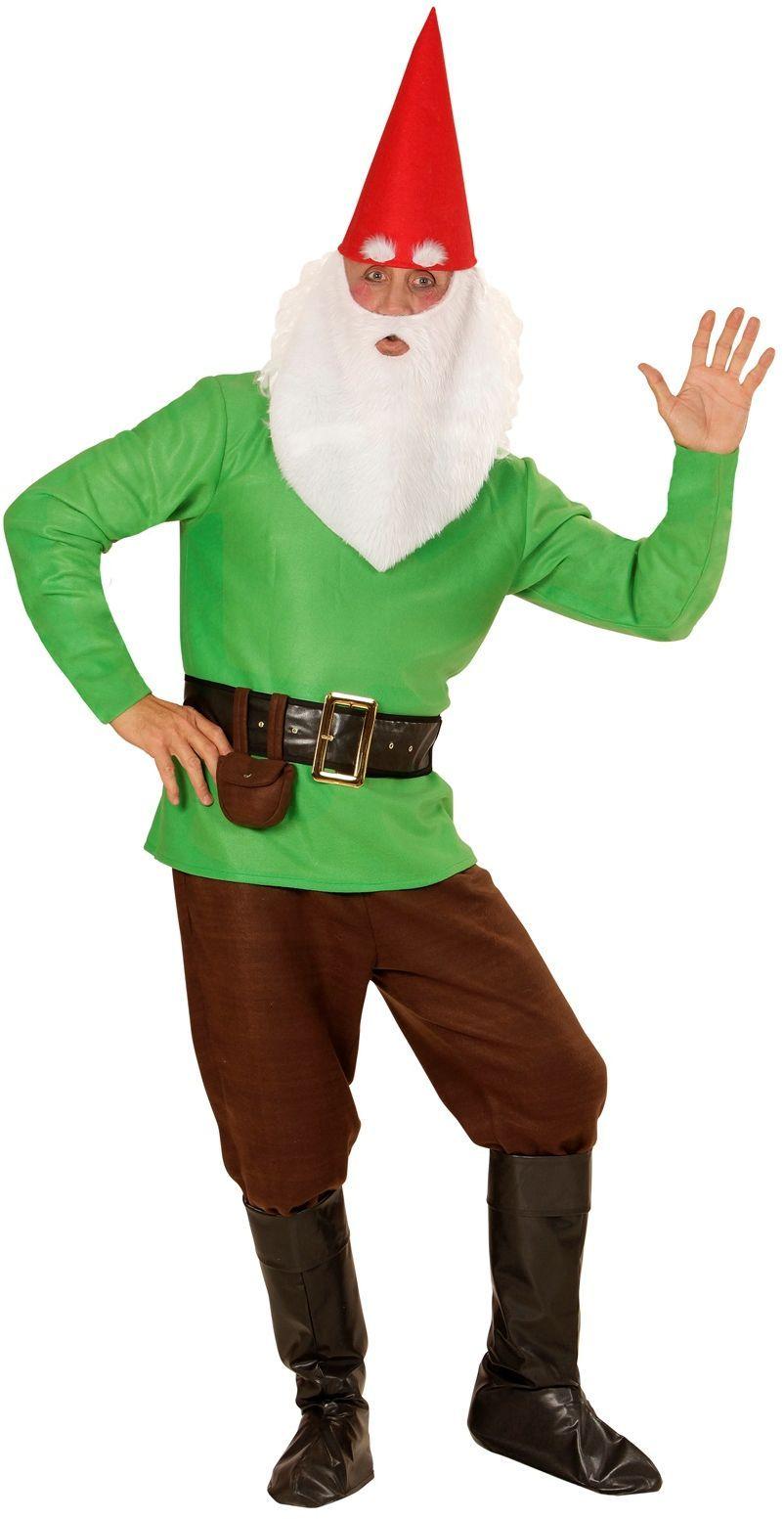 Kabouter kostuum groen