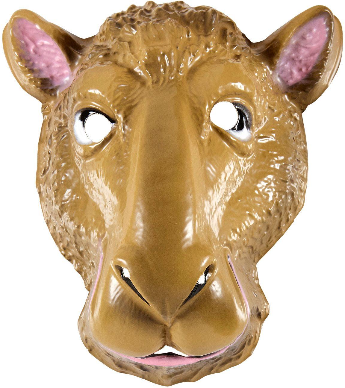 Kamelen masker kind pvc