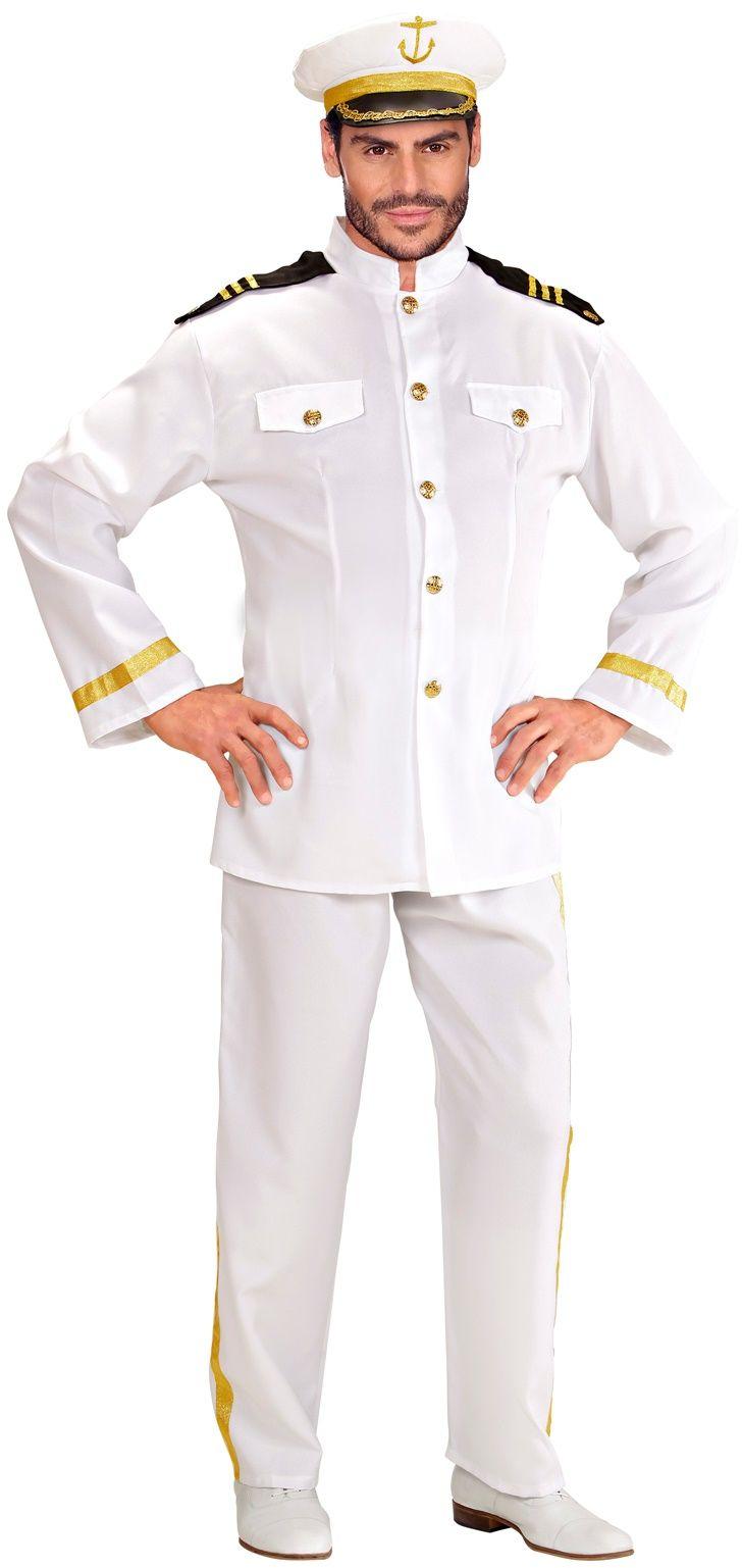 Kapitein kleding man