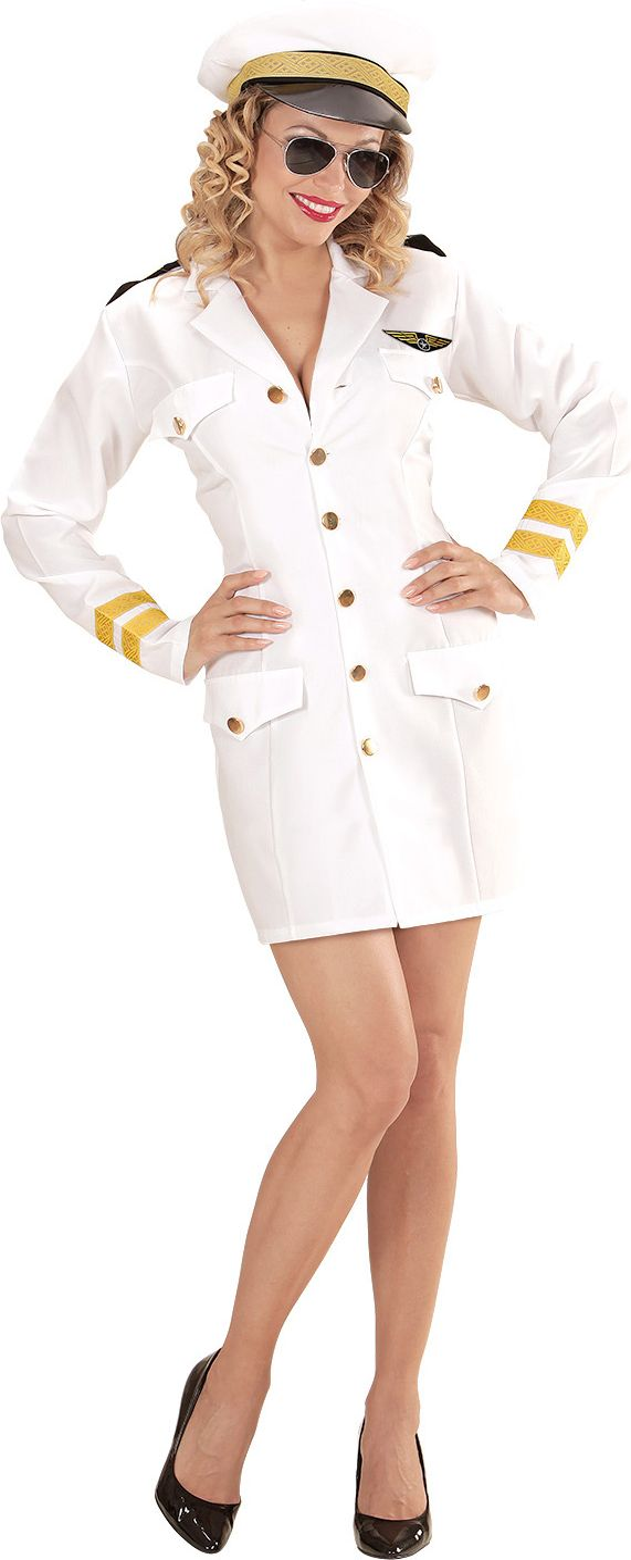 Kapitein outfit dames