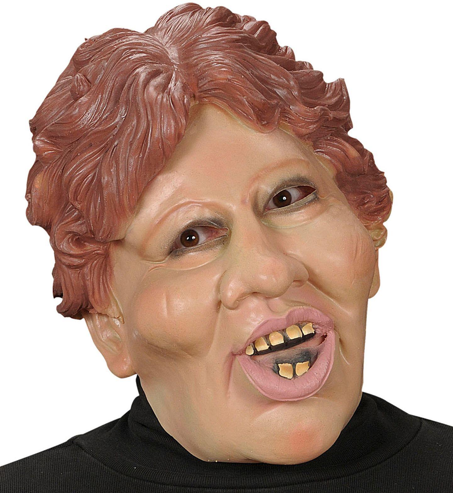 Karikatuur masker Margaret