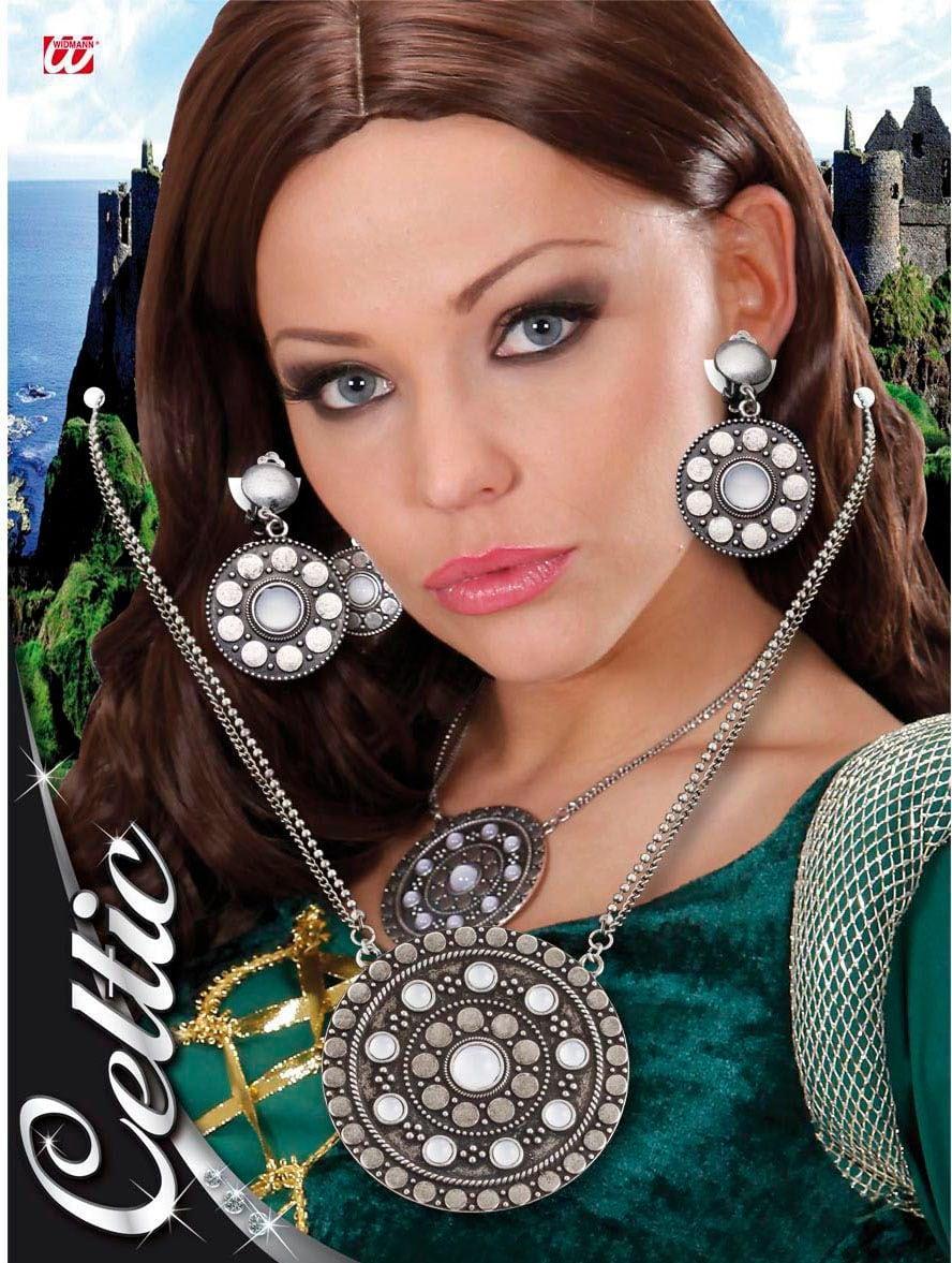 Keltische ketting en oorbellen