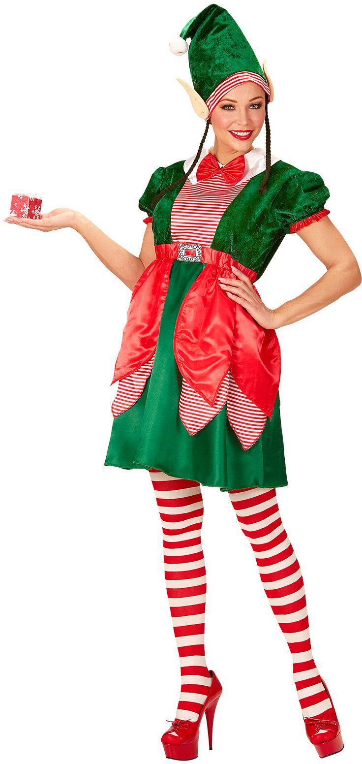Kerst elfen jurk