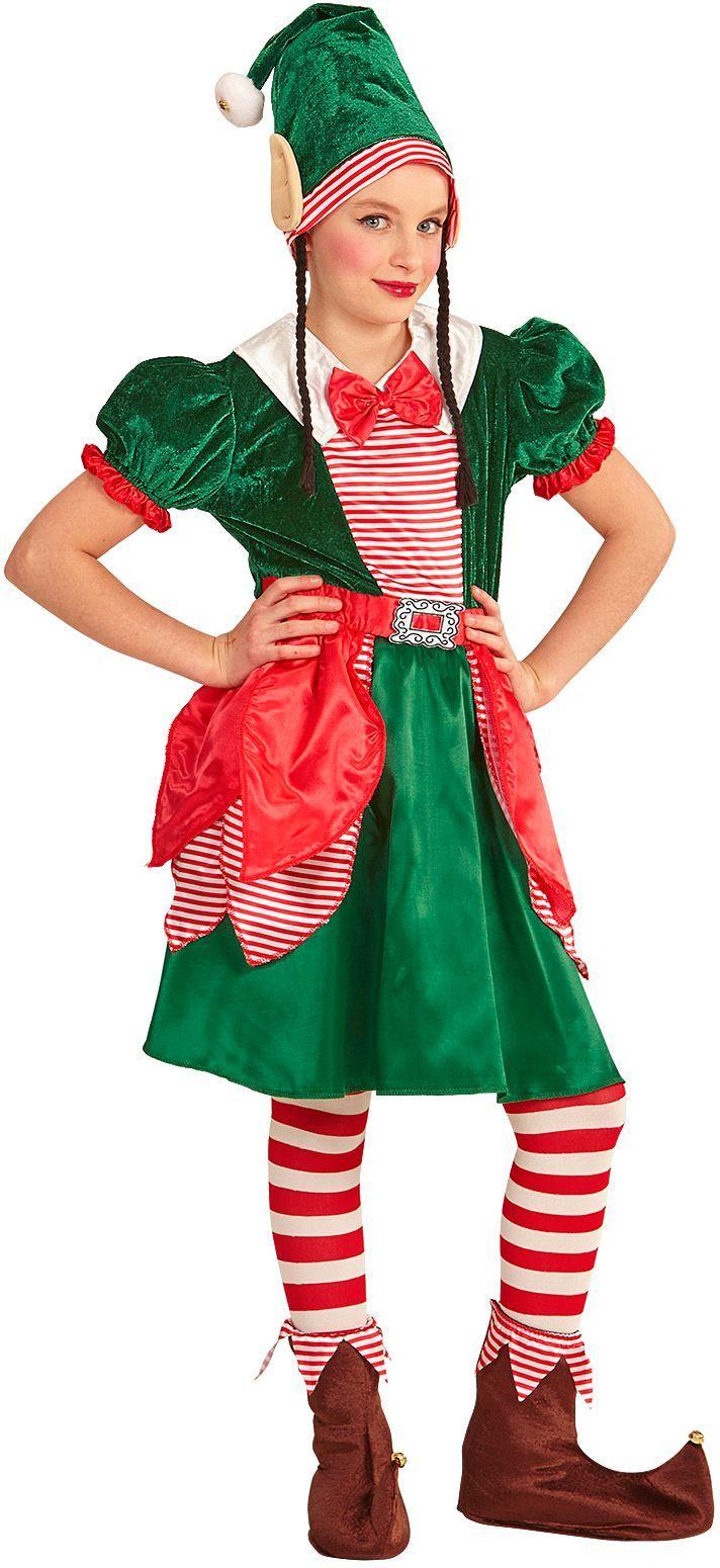 Kerst elfen jurk kind