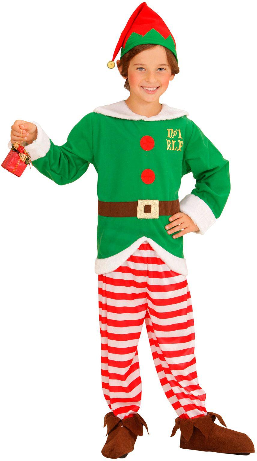 Kerst elfenpakje kind