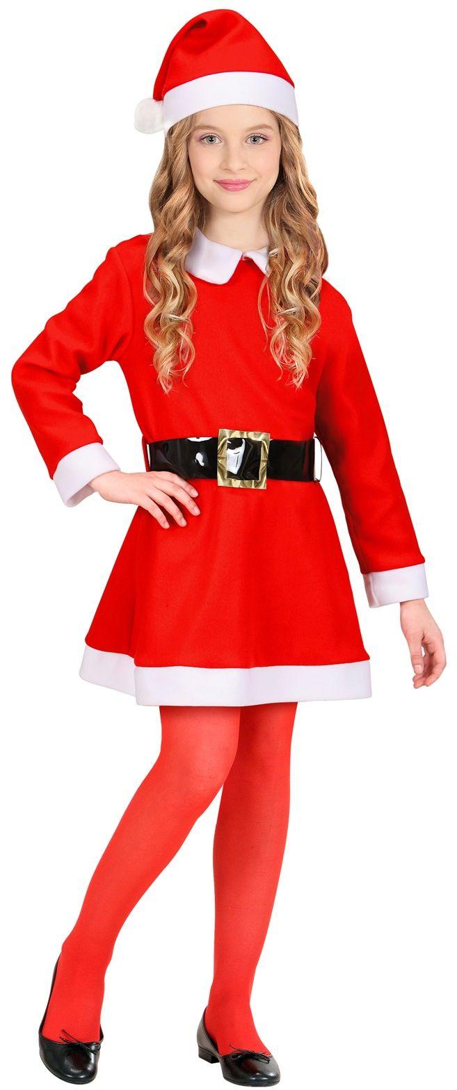 Kerstman jurk kind
