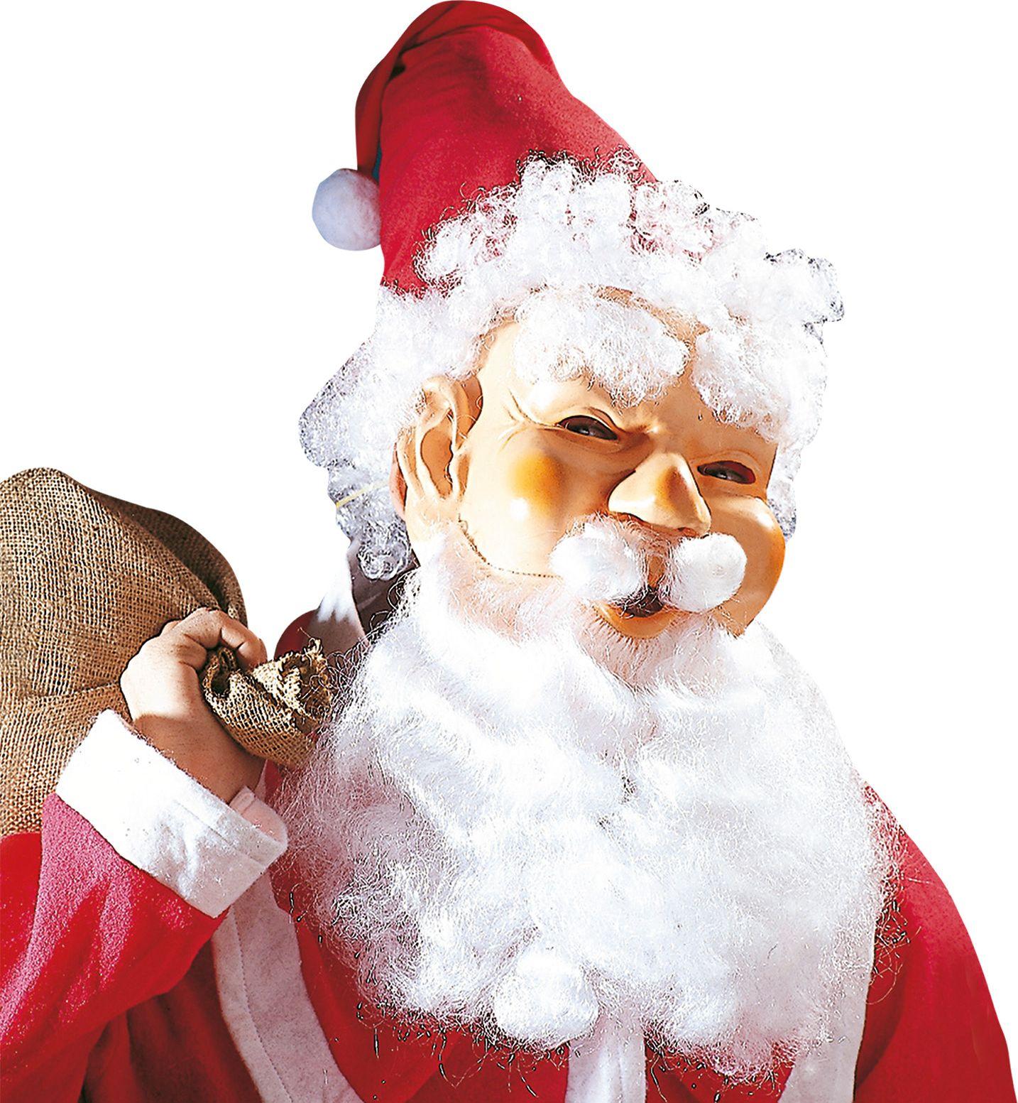 Kerstman masker set