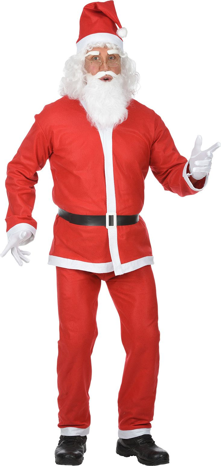 Kerstman outfit budget