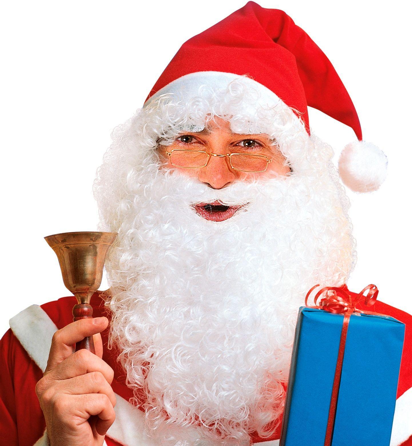 Kerstman pruikenset