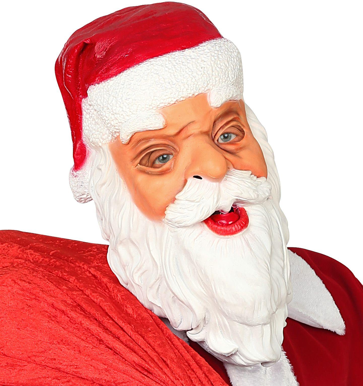 Kerstman santa masker