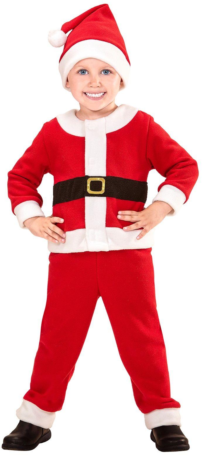 Kerstmannen pak kind