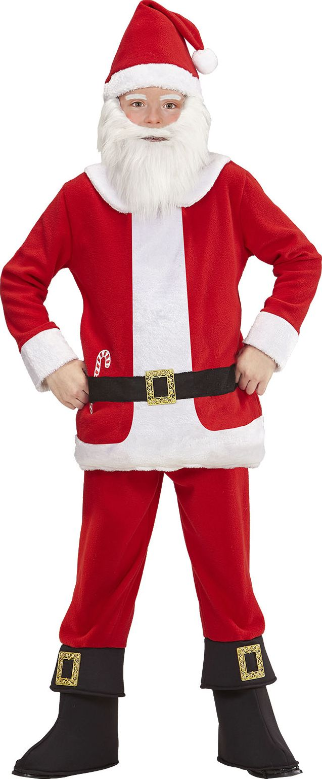 Kerstmannenpak kind