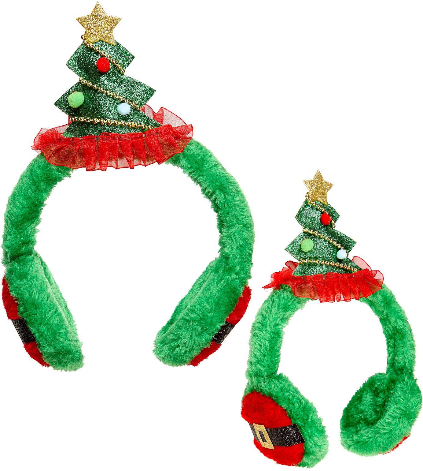 Kerstmis oorbeschermers