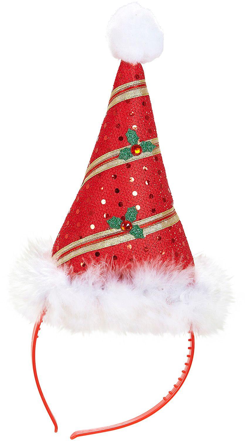 Kerstmuts hoofdband