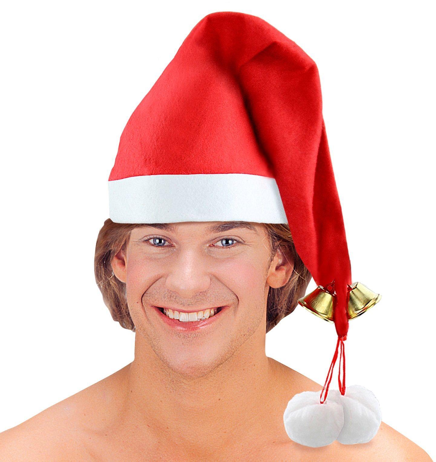 Kerstmuts met jingle bells