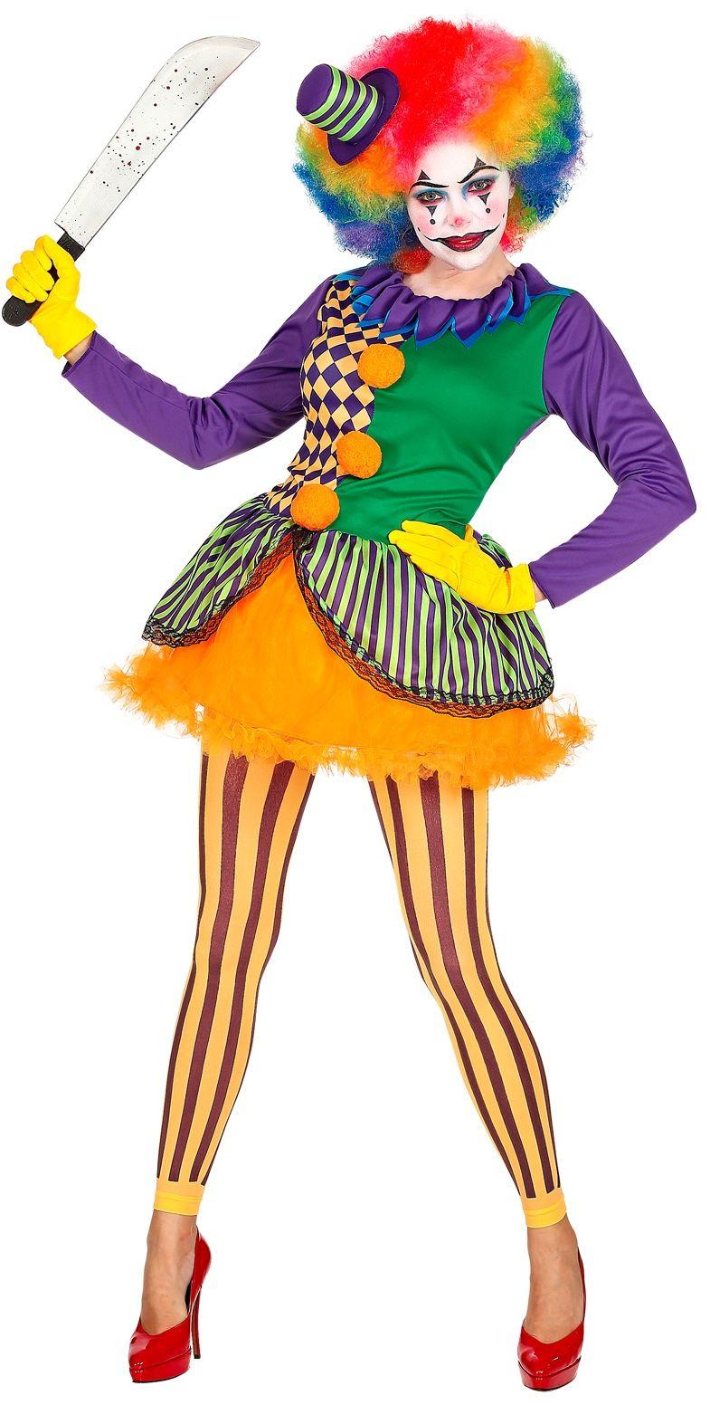 Killer clown jurkje halloween
