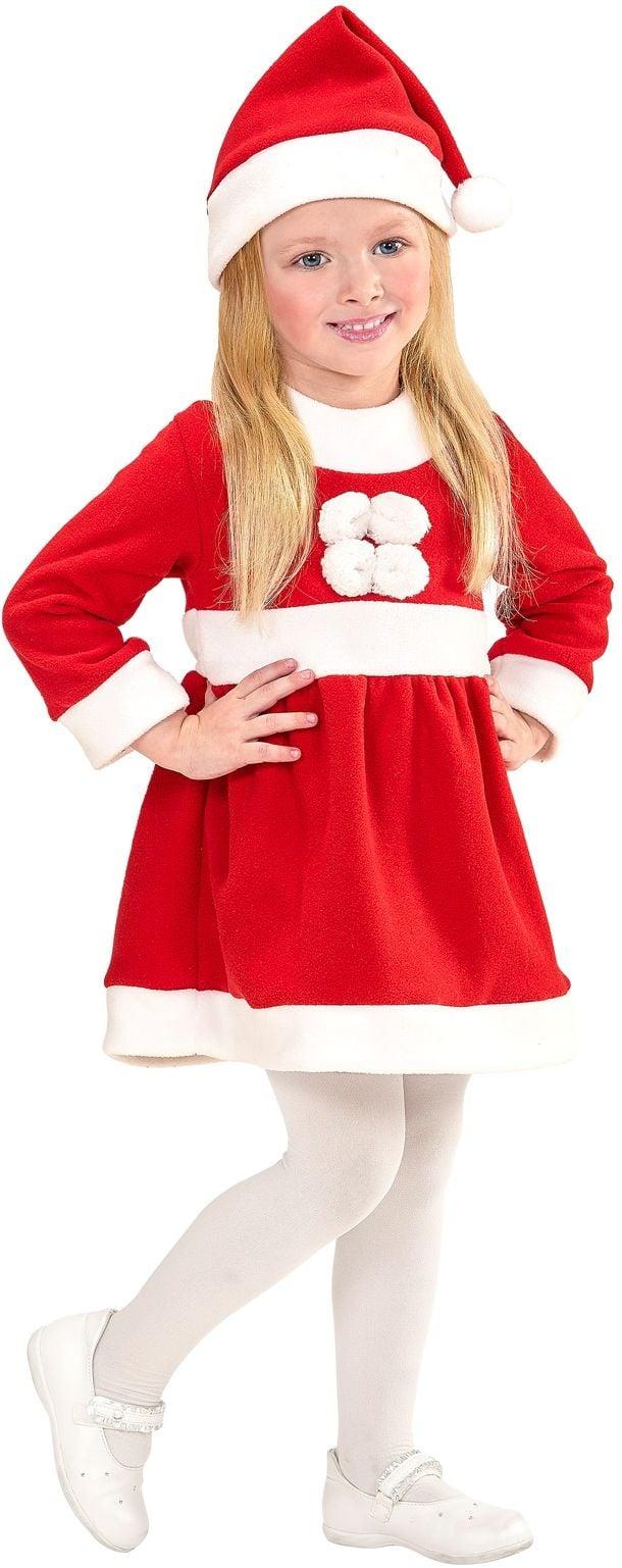 Kinder kerstman pak meisjes
