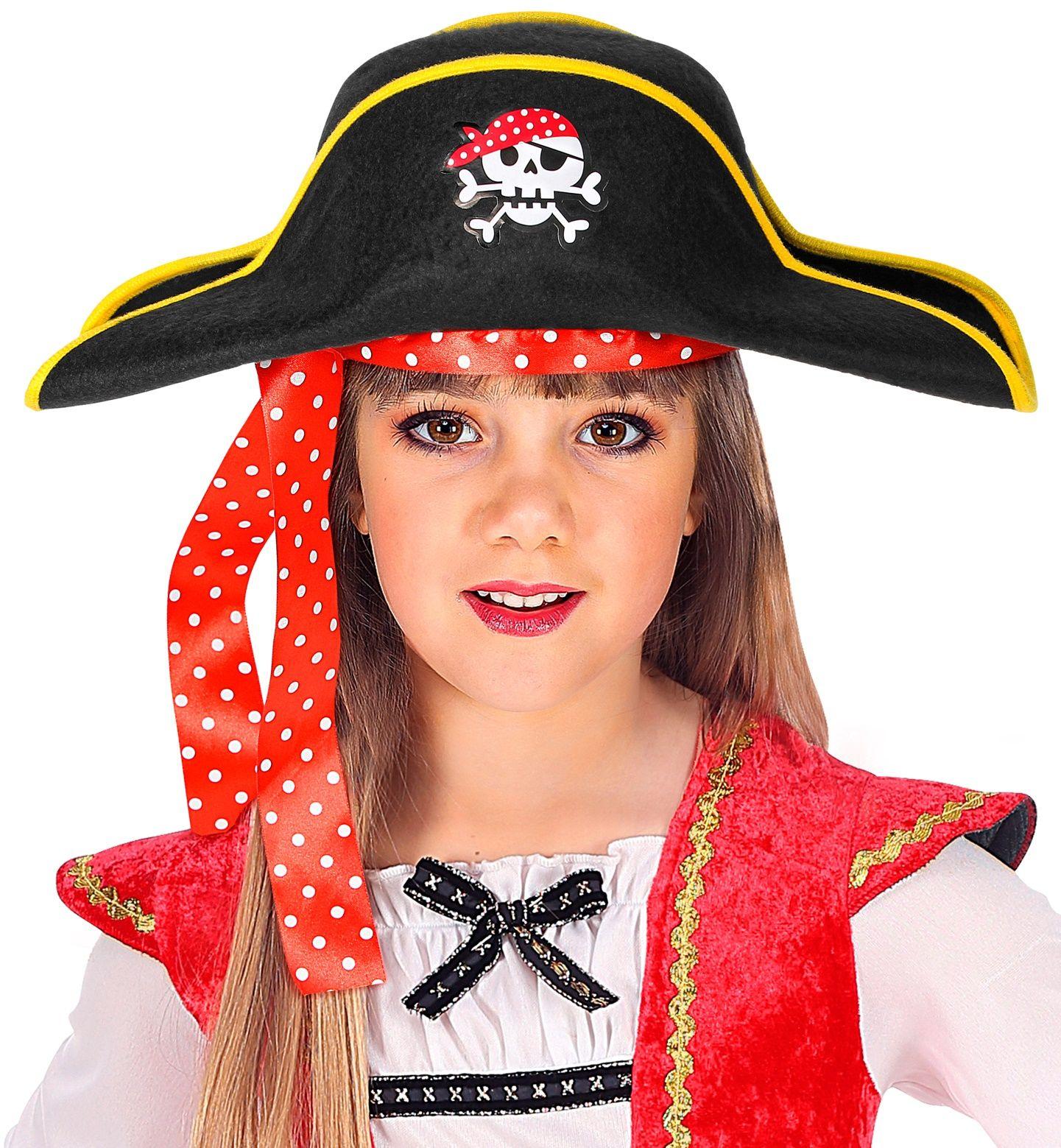 Kinderen piratenhoed