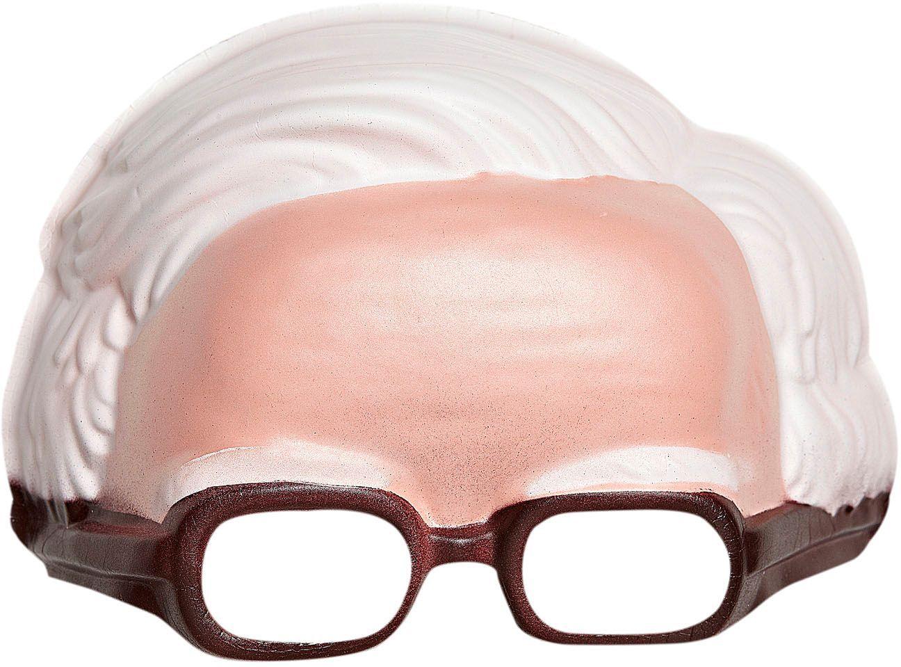 Kinloos opa masker met bril