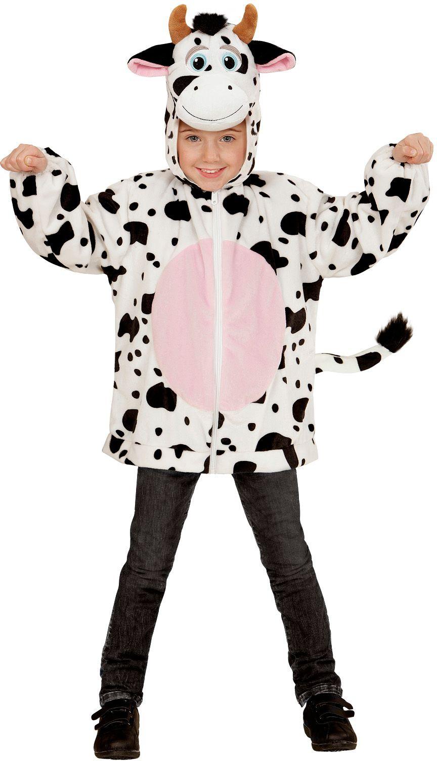 Koeien pak kind