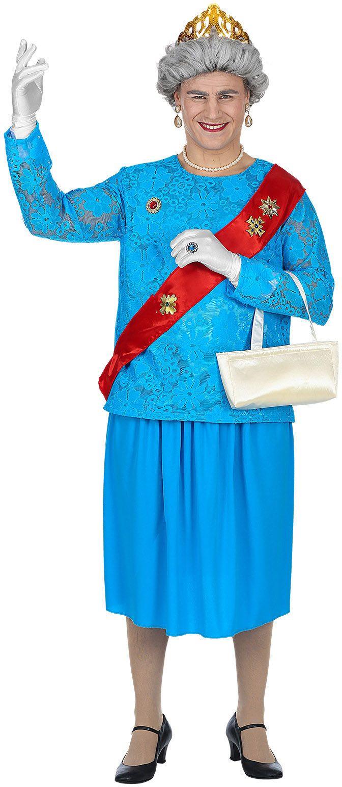 Koningin Elizabeth kostuum