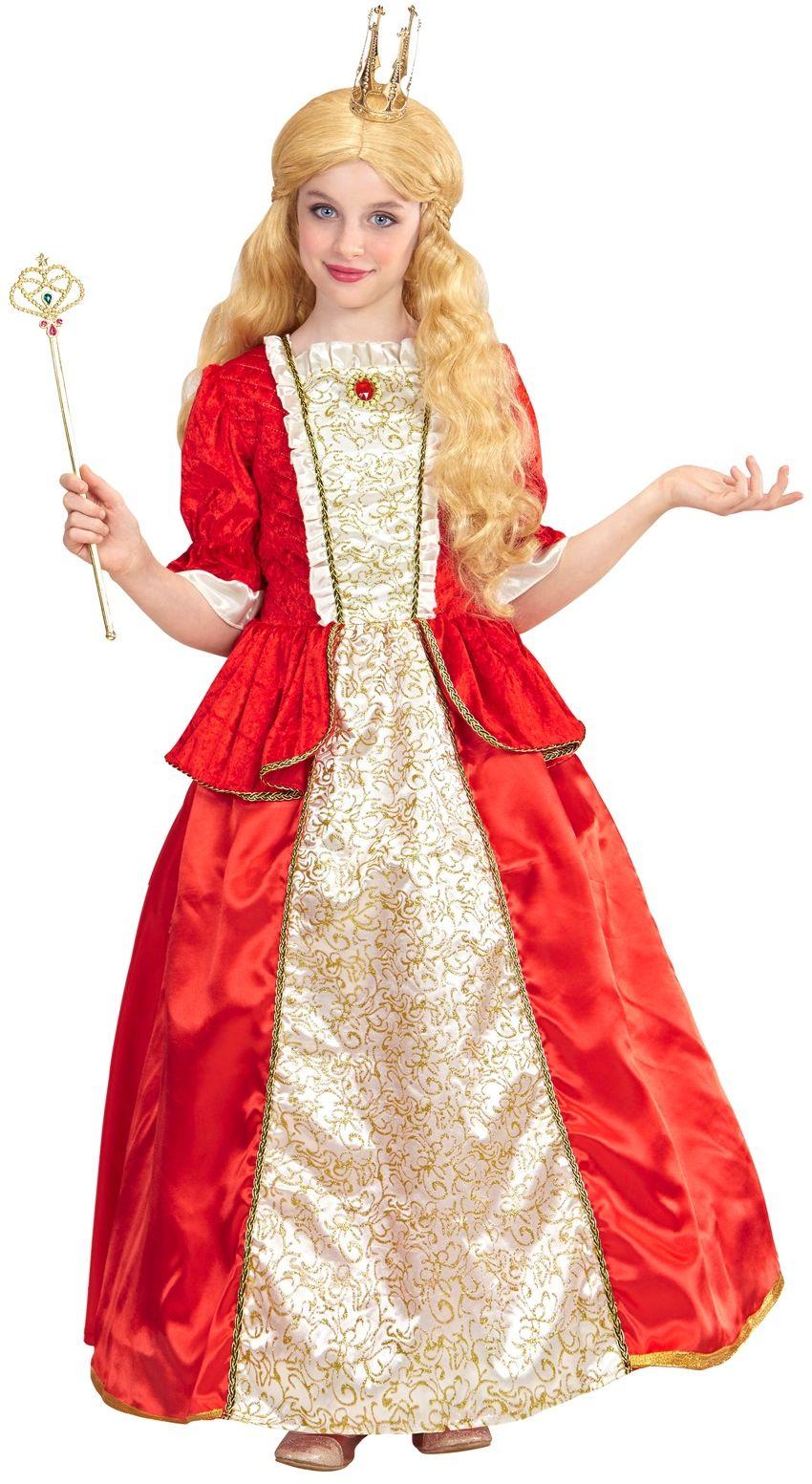 Koninginnen jurk kind