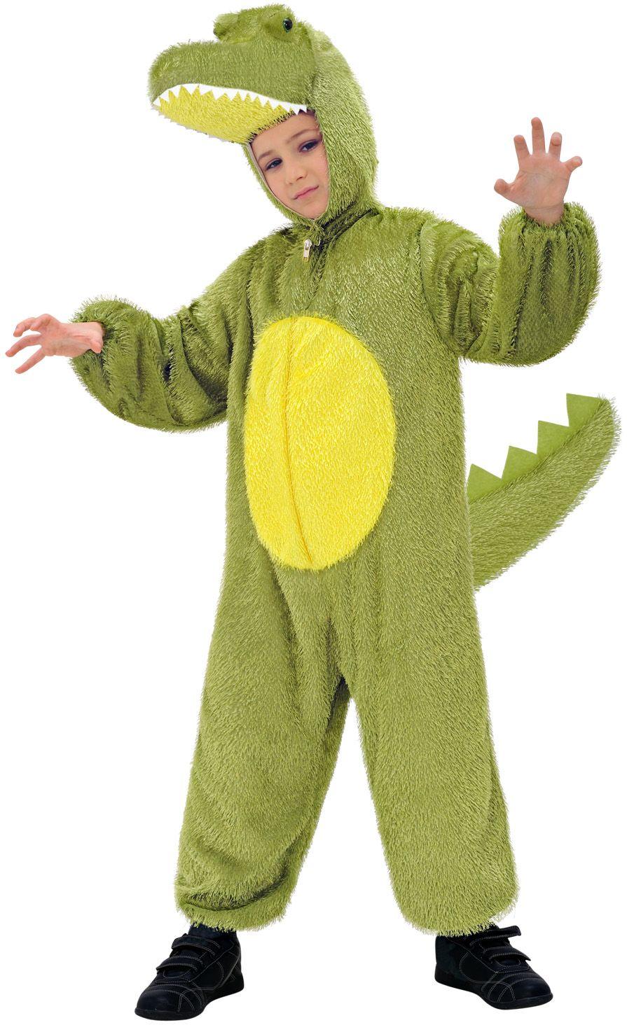 Krokodil onesie kind