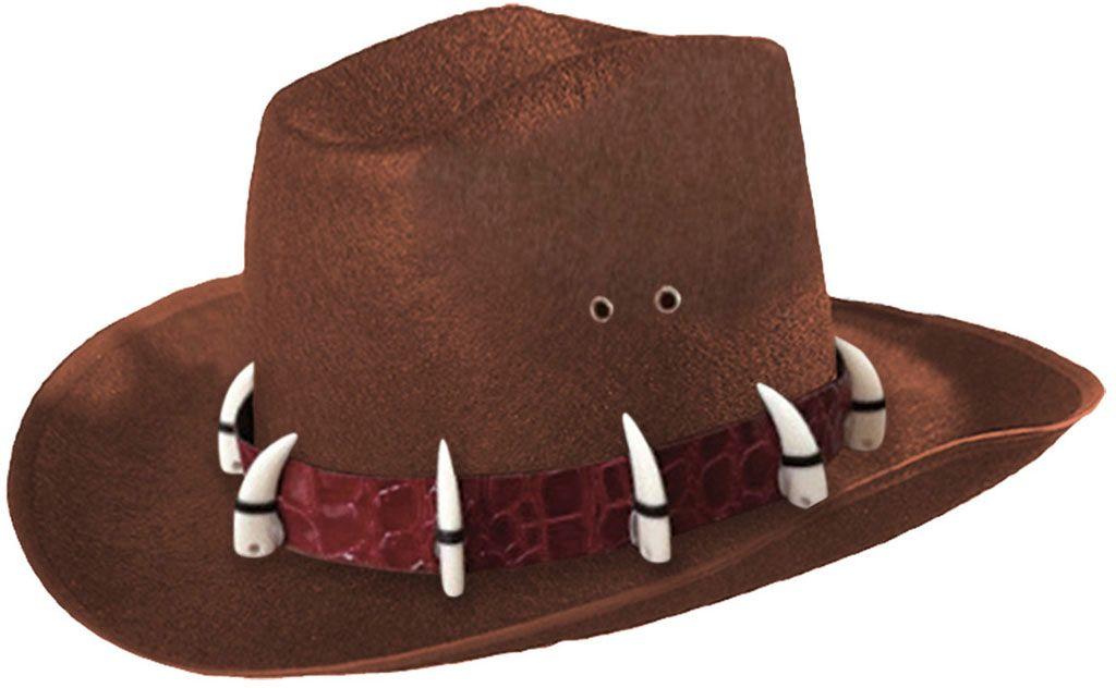 Krokodillen Dundee hoed