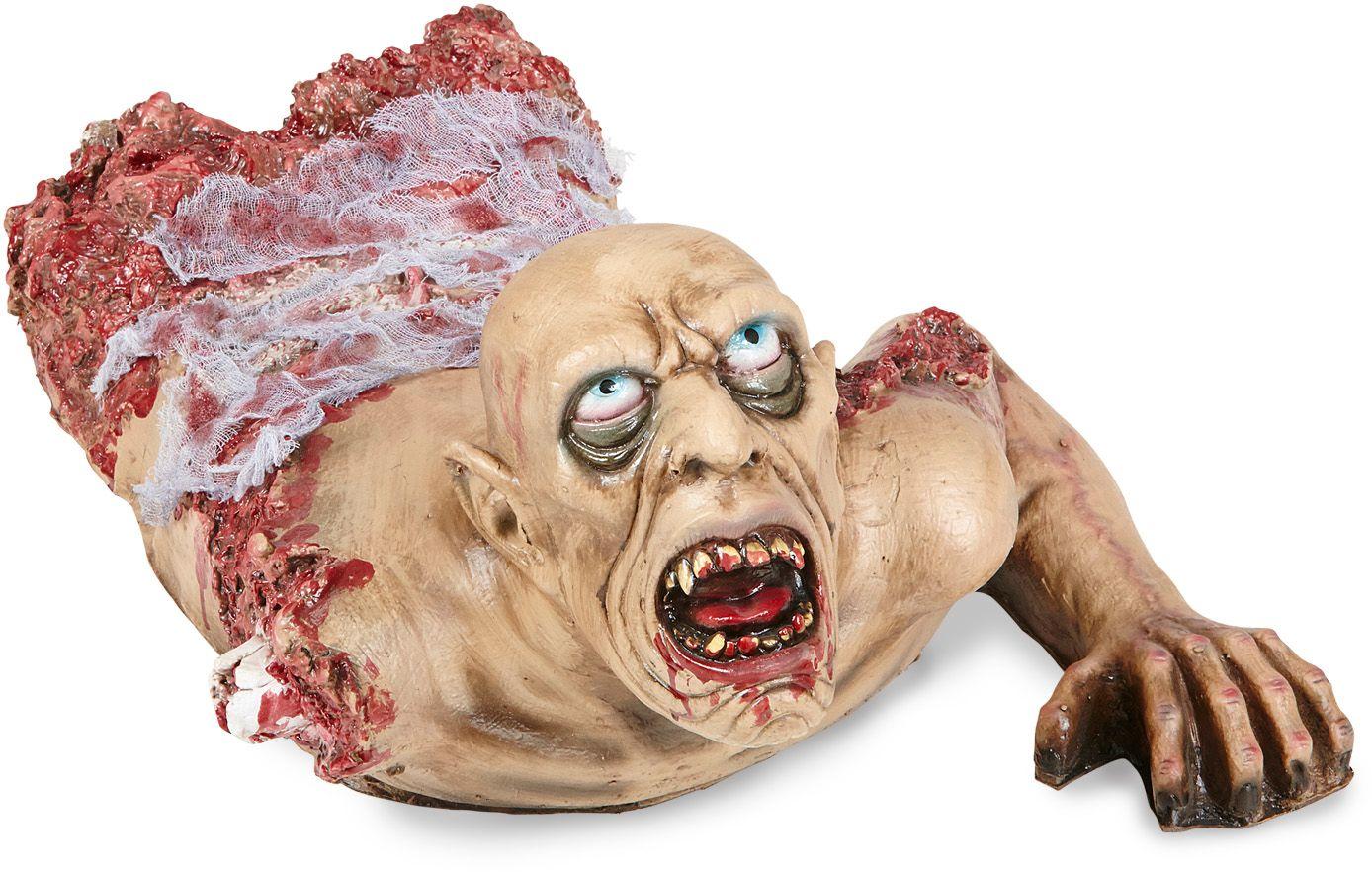 Kruipende zombie versiering