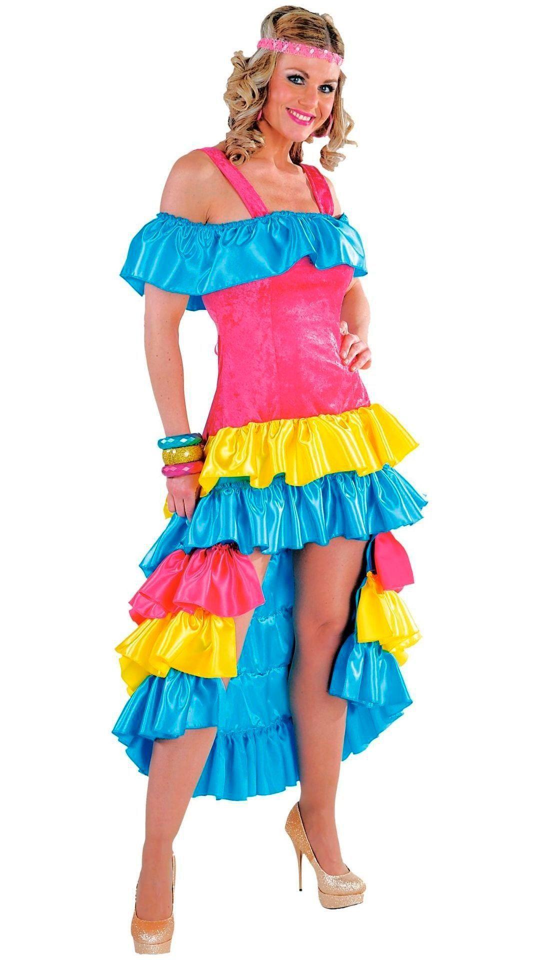 Lange Braziliaanse jurk