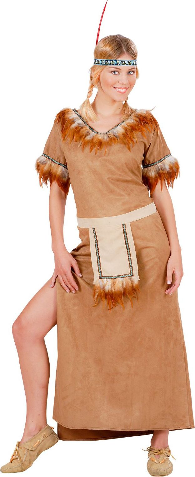 Lange indianen jurk