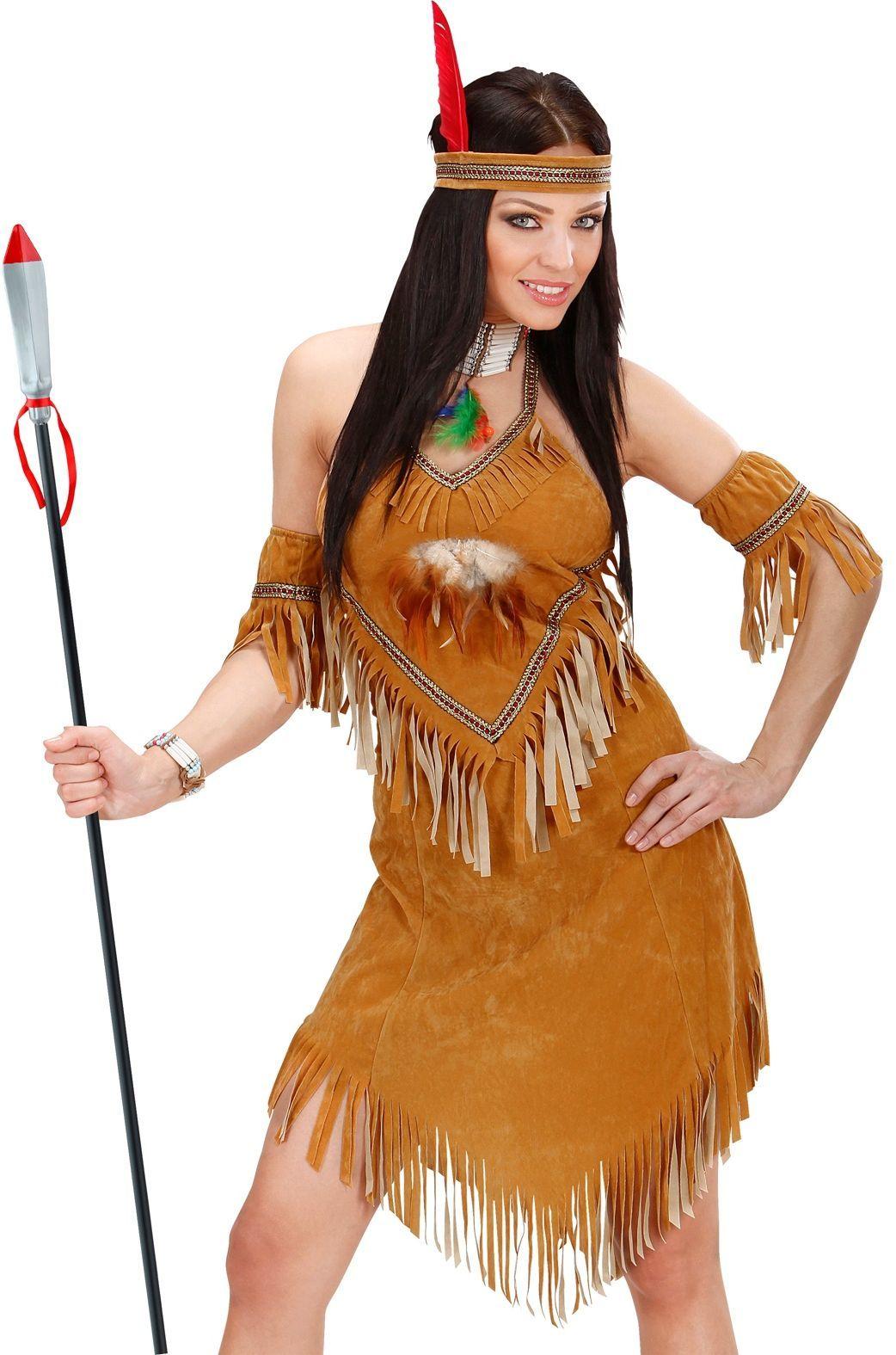 Lange indianen speer